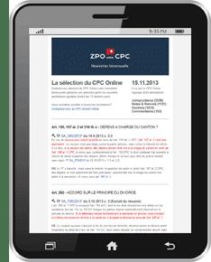 Newsletter CPC Annoté Online