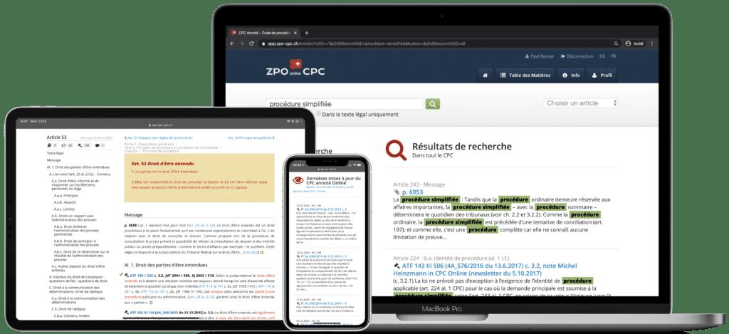 Abonnement CPC Online
